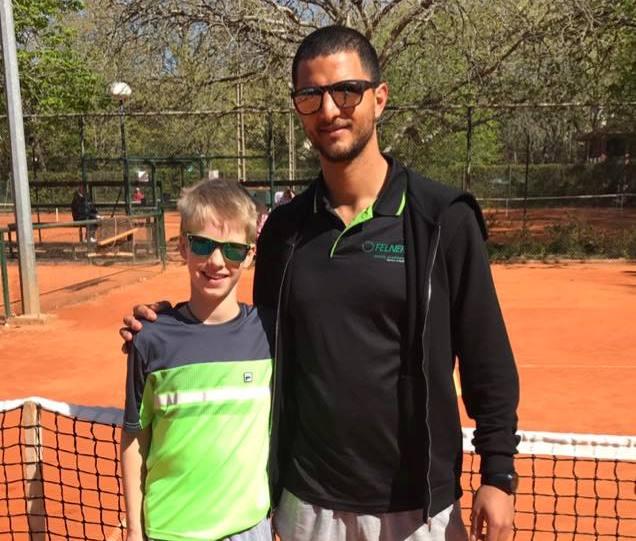 Patrick Schoen está em prova no torneio Braga Open (Torneio Tennis Europe)