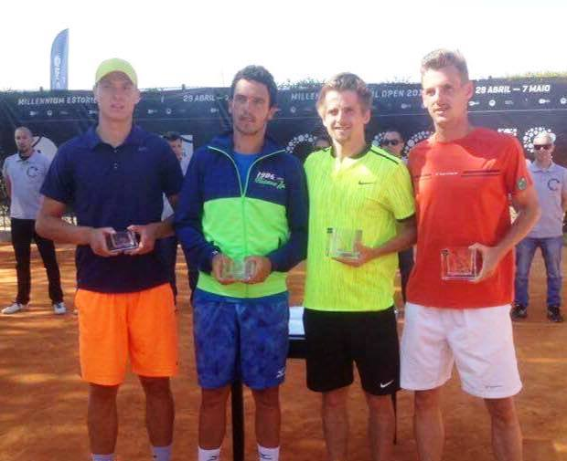 Marat Deviatiarov foi finalista de pares no ITF 15.000$ da Quinta da Marinha