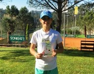 Constança Azinhaga won tournament U14 in Leiria and U16 in Caldas