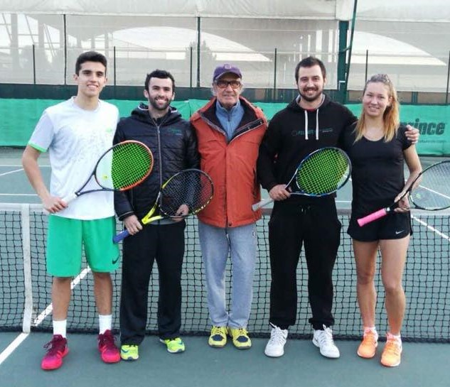 Regional Championship Senior: S.Rohovets Runner-Up Singles, J.Campos/E.Lameiras Men's Doubles Winners