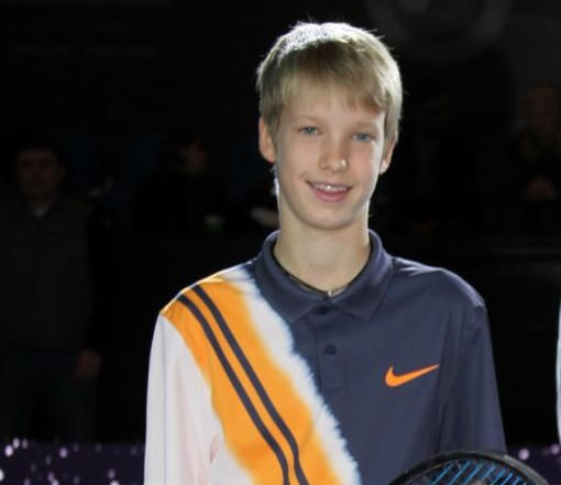 Patrick Schoen reach semi final at Christmas Cup G1 U14, in Khimki, Russia