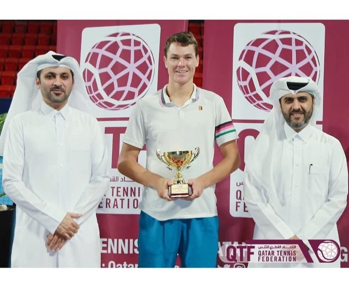 Marat Deviatiarov won 15k ITF tournament Doha, Qatar