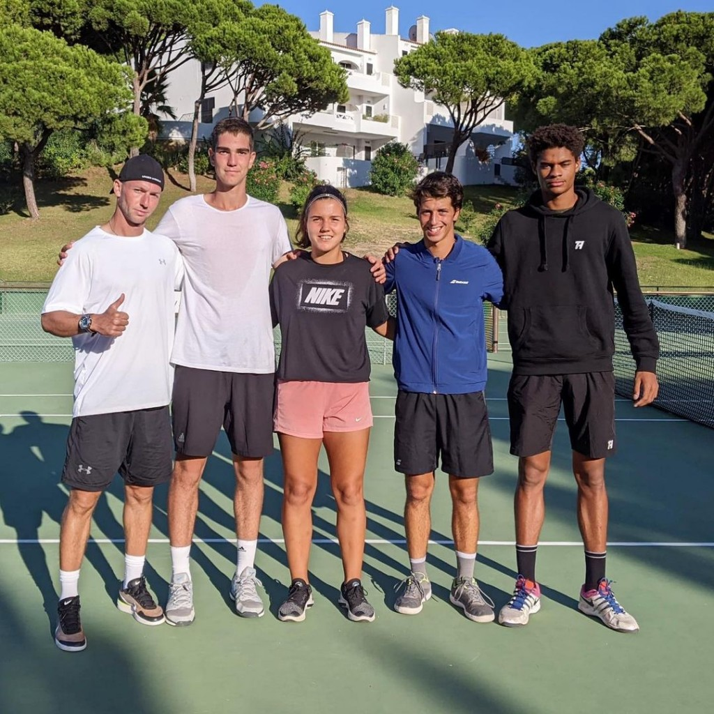 FTA Team present at the Junior ITF's in the Algarve