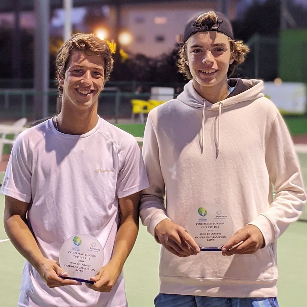 Pedro Libório and Jaime Faria win the Portimão ITF Juniors Doubles Title