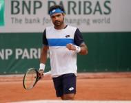 Frederico Silva falls short at the 2020 Roland Garros qualifying